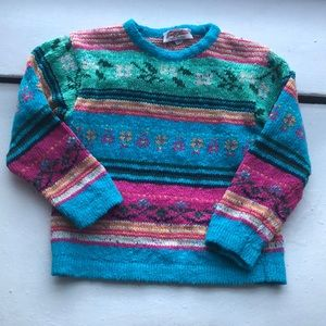 VTG Colorful Sweater made in italy 4